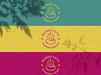 Mundo Sutil - Branding argentina bright colors vector branding design illustration incense india