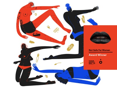NSFW - Not Safe For Women - Award Winner Illo illotv not safe for women women in illustration women empowerment character design color illustration