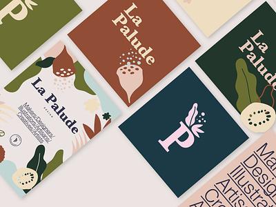 La Palude - Design Market makers design market illo branding logo poster design brand identity illustration