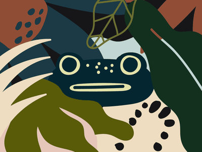 CRA character creation character concept character art illo jungle animal acquatic swamp frog character design