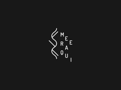 Meeraqui Logo brand design festival logo electronic music logofolio logodesign logo
