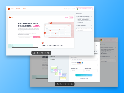 Screenr - Screenshot Tool web editor app tool ui screenshot