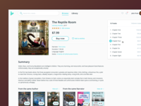 Audiobooks Online — Book page
