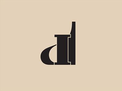DI Monogram identity design logotype symbol typography logo illustration branding logo design monogram