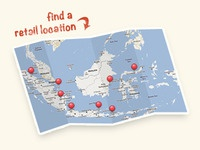 Retail Location Map