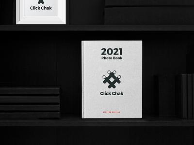 Click Chak - Brand identity system vector logo minimal branding