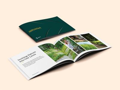 Brochure Design For Real Estate layout design brochure mockup brochure layout brochure design ideas flat communication design brochure design design minimal