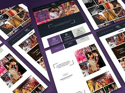 UI For Event Photography Company web mockup wedding photography website event website corporate website web design web screens ui mockups ux design ui design ux uiux website ui