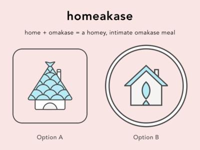 Homeakase Logo Concepts