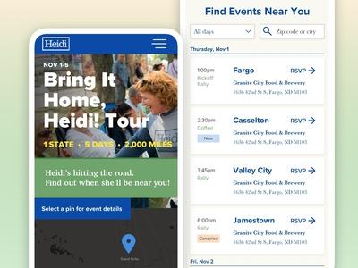 Senator Heidi Heitkamp's Reelection Campaign Mini Site