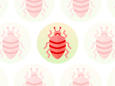 Daily UI 005 - App icon logo uidesign podcast dailylogochallenge vector sketch insect bug beetle icon app dailyui