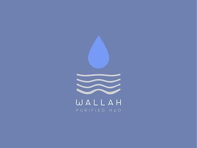 Simple Minimal Logo for Water Purifier Brand flat illustration illustrator icon logo logodesign logo design minimal branding water