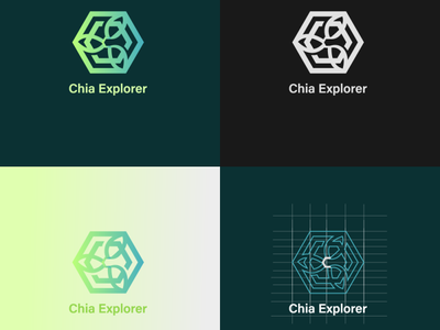 Minimal logo for crypto-currency crypto cryptocurrency gradient geometric design geometric flat logo design graphics minimal branding illustration logodesign logo