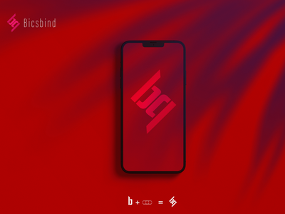 iPhone 12 Pro Mockup | Minimal Logo | Modern Logo iphone mockup app icon red vector flat design logo branding illustration modern design logodesign modern logos modern modern logo