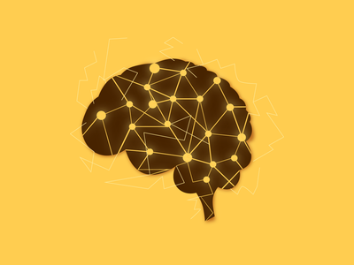 Brain Illustration | Geometric Brain geometric brain geometric brain geometric design geometrical geometric brain illustrations vector design logo design graphics minimal illustration branding logodesign logo