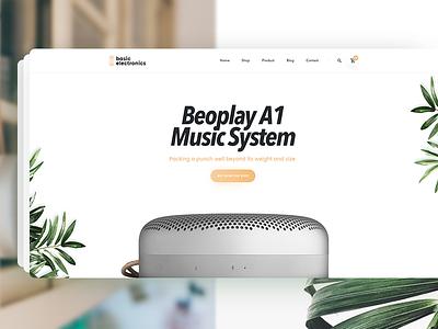 June Single Product web design fashion website typography ui product shop psd june ecommerce