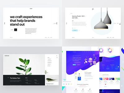 2018 page crypto minimal design landing clean mobile 2018 web app ux ui