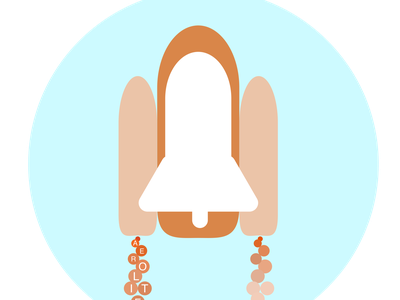 Spaceship dailylogochallenge logo