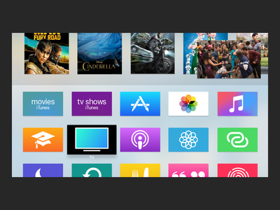 Apple TV PiP picture in picture pip netflix media tv design 🍏 🍎 apple