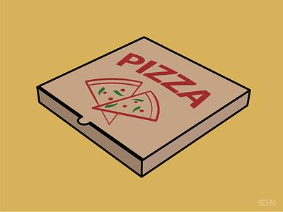 Pizza Box vinny vinnys illustration food box pizza box pizza