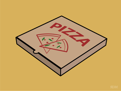 Pizza Box vinny vinnys illustration food box pizza box pizza