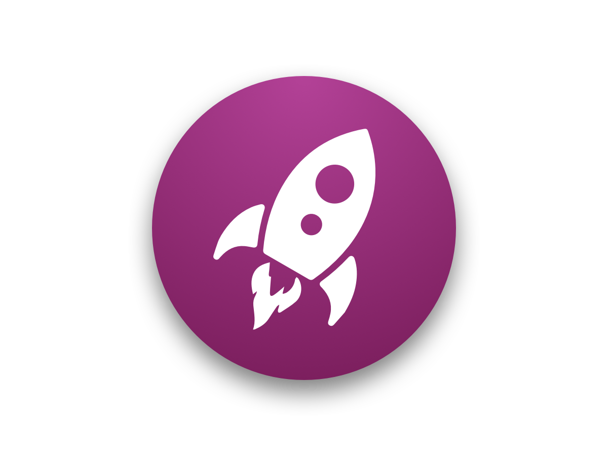 Launch Button blast off spaceship blastoff icon processly button launch rocket ui sketch