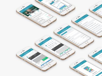 Scheduler iOS APP calendar ui mobile ios