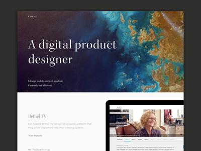 Portfolio update gold elegant clean portfolio