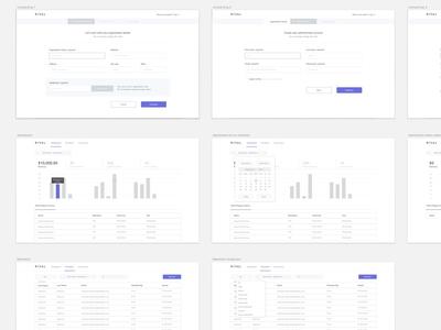 Rival admin UI dashboard simple clean admin