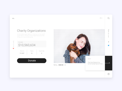 Charity Organizations App