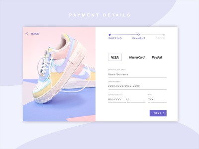 Daily UI #002 | Credit Card Checkout 002 ui dailyui checkout page