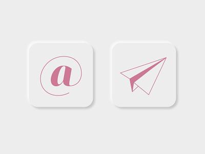 Daily UI #005 | App Icon 005 app icon neumorphism dailyuichallenge dailyui