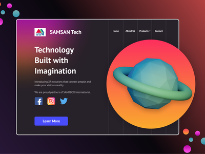 Launch Page app vector website web ux ui minimal flat design dailyui