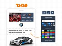 Ticket customizing app