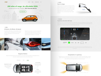 Chevrolet Bolt website redesign