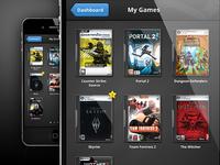 Steam App - My Games