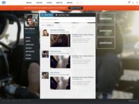User Profile Wall