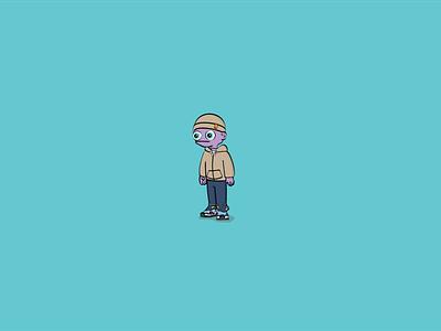 Lil Do'Dat minimal flat vector illustration design dodat
