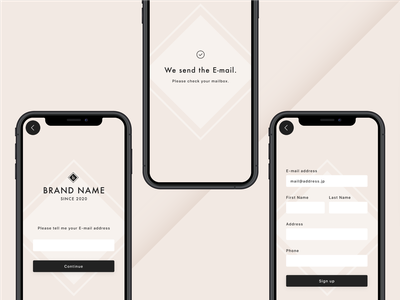 Sign Up dailyui dribbbleinvite design minimal vector branding ui