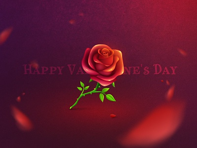 Rose rose icon xiaoxian valentines day flower