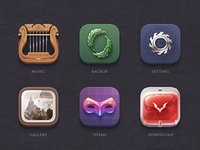 Vampire Theme Icon icon theme music backup setting gallery download vampire