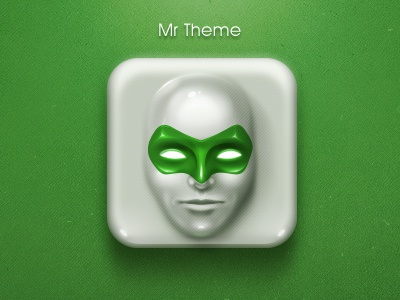 Mr Theme ui icon xiaoxian mask face