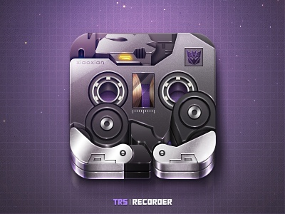 Recorder-Ravage icon ui xiaoxian transformers tapes