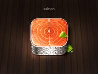 Salmon Icon xiaoxian icon ui salmon mustard