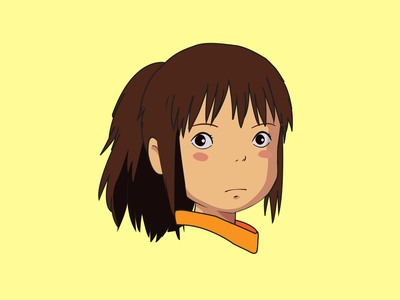 The Light Mode & Dark Mode of Spirited Away vector design illustration spiritedaway