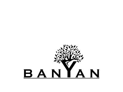 Banyan Logo logo trends 2020 logo trends logo trend minimalist logo minimalistic minimal logos logo folio logo designs logodesign logo