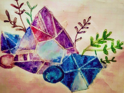 Watercolor Art illustration