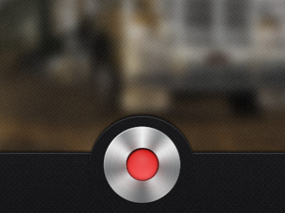iOS Record Button