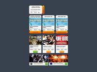 Event widgets