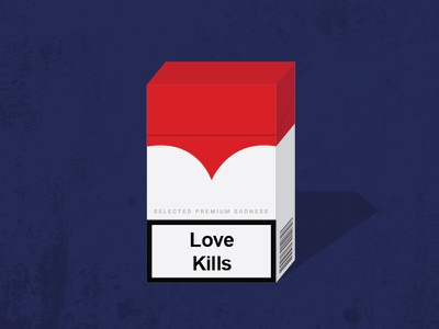Love Kills cigarettes marlboro red love hurts love smoke